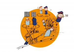 Illustrationen Erlebnispfad Geislinger Steige_kusgrafik